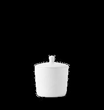 Thermodan Sukkerskål Ø8 cm Hvit Porselen