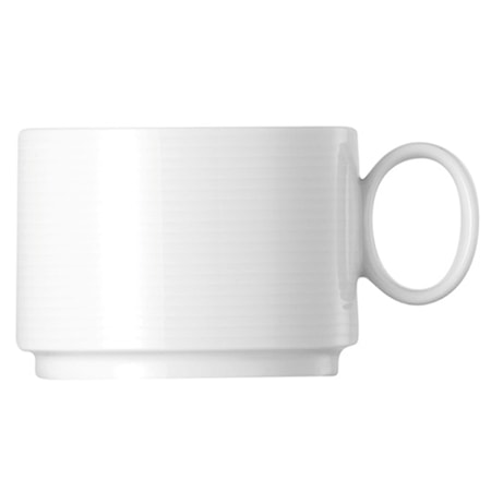 Loft Valkoinen Teekuppi Pinottava 21 cl