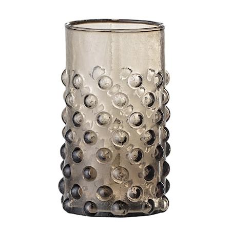 Freja Vattenglas Brun Återvunnet Glas