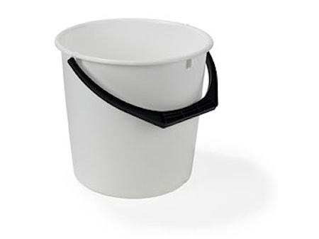 Plastspand 10L Hvid