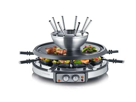 Kombinert Raclette og Fondue