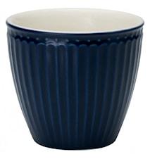 Alice Taza Latte Azul Oscuro