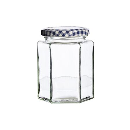 Kantet glass m/skrulokk 28cl