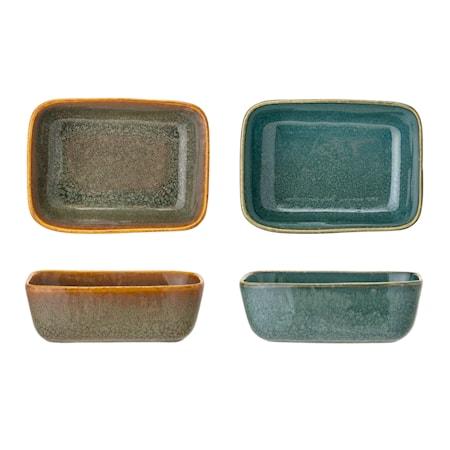 Aime Serving Skål, Multi-farve, Stentøj