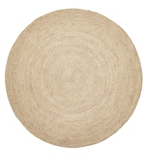 Teppe Jute Round Natural