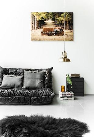 Island Fårskinn Svart 55x100 cm