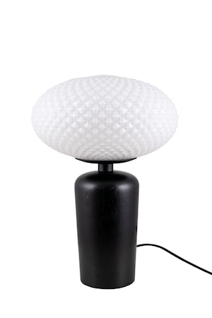 Bordslampa Jackson Vit/Svart