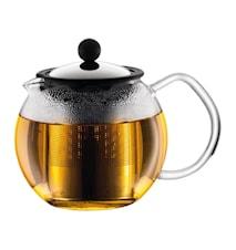 Assam Teekanne mit Stahlfilter 50 cl Glänzend