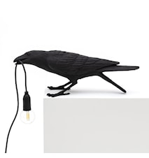 Bird Lamp Playing Svart