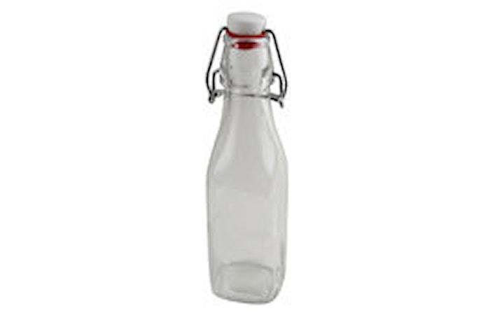 Fyrkantig flaska 0,25 L