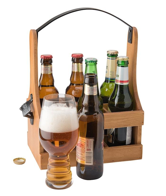 Bottleback 6 flasker håndtag og åbner