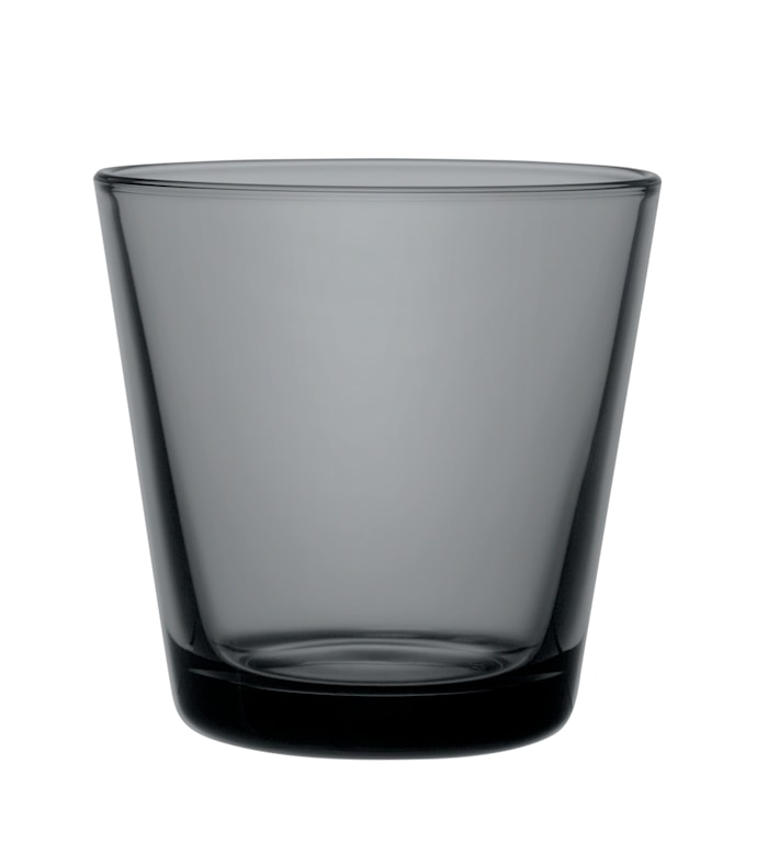 Kartio Glass 21 cl Mørkegrå 2 stk