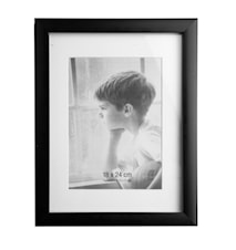 Picture Frame Black 18 x 24 cm