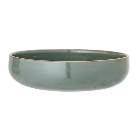 Serveringsskål Pixie Grön Ø28,5xH7 cm