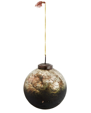 Glasboll Ø 10 cm Mörkgrön