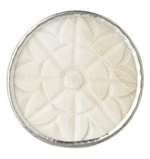 Nobilia Pomo - Blanco lana/plateado Ø4.5 cm