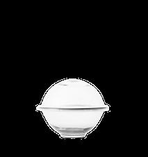 Chapeau Makeiskulho suupuhallettu lasi kirkas Ø16 cm