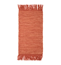 Teppet Wool Orange 120 x 60 cm