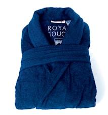 Morgonrock Royal Touch Velvet Blue XXL