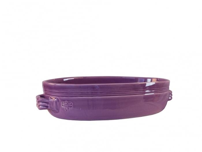 Toscana Gratiinivuoka 34 x 23 cm Keramiikka Violetti