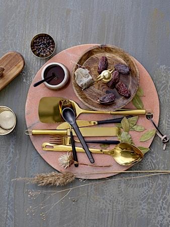 Serveringsskje Gull, Rustfri Stål 31x7cm