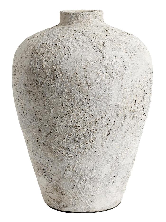 Luna Kruka Grå Terracotta 40x32cm