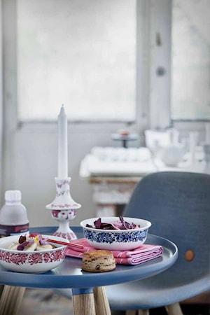 Skål, Rosamunde, blå, Ø 15,7 cm