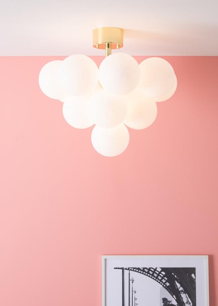 Merlot Plafond Mättsing/Vit 13L