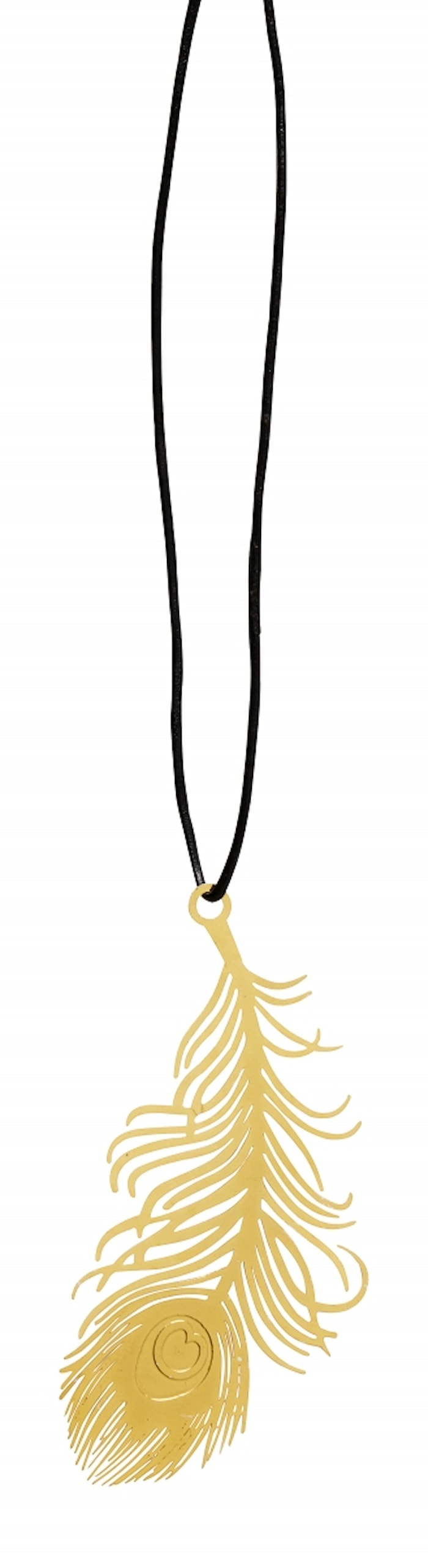 Juldekoration Metal Feather