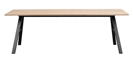 Brigham Spisebord Hvitpigment villeik 220x90 cm