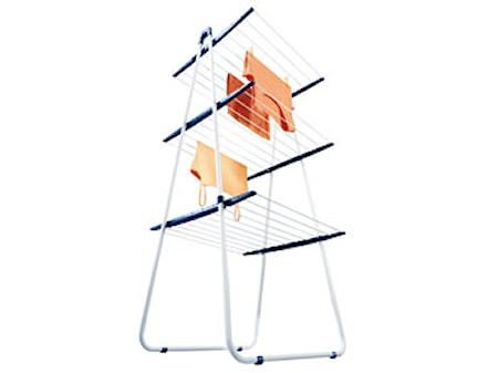 Pegasus Tower Torkställning vit/blå