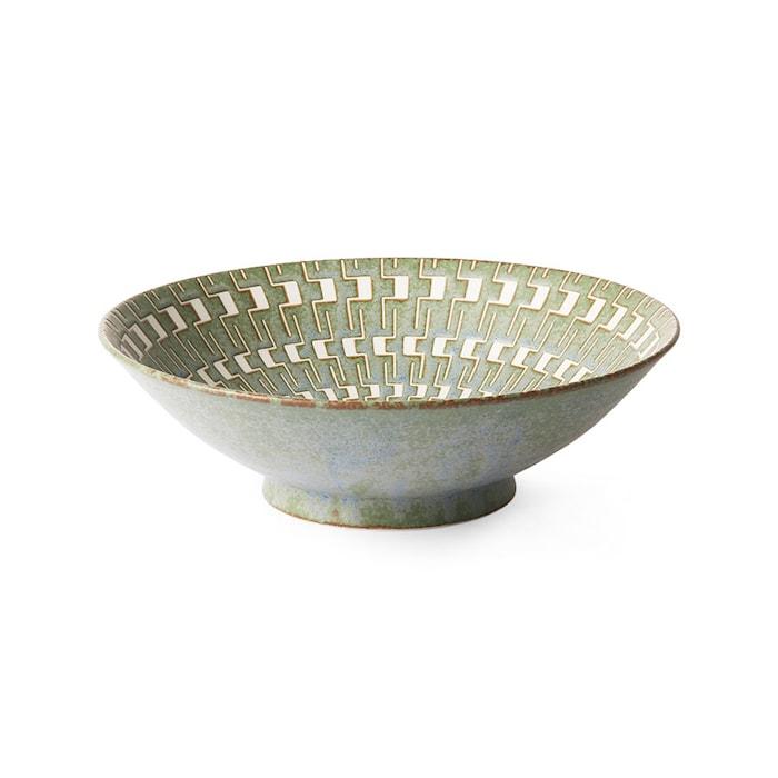 Kyoto Ceramics Japanese Ceramic Salladsskål