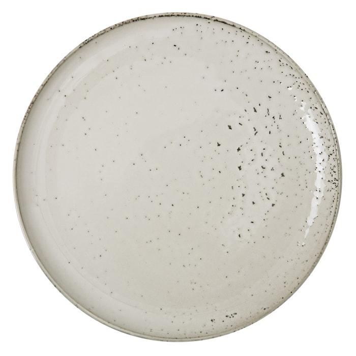 Rustiikkinen lautanen 26,5cm beige