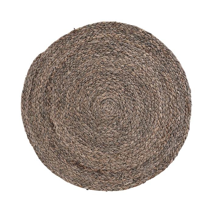 Bordstablett Cirkel Ljusgrå 4-pack Ø38 cm