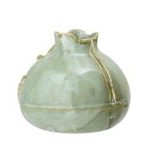 Vase Stentøj Grøn H9 cm