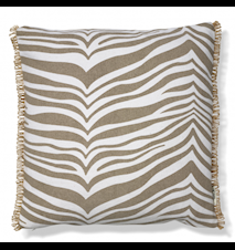 Tyyny Zebra Simply Taupe 50x50 cm