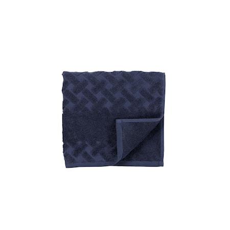 Asciugamano Laurie 100x50 cm blu scuro