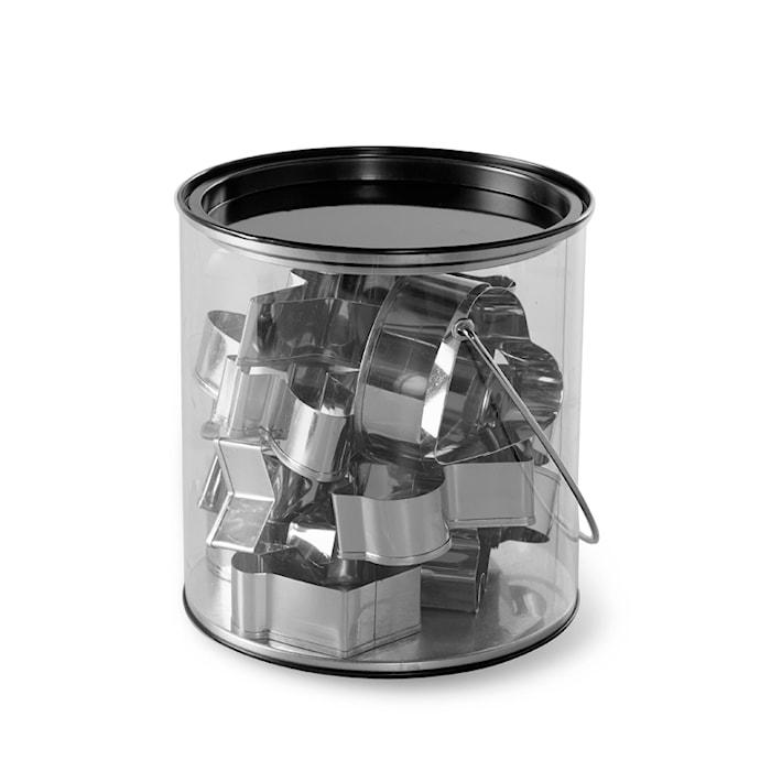 Kakformar Rostfritt Stål 15-pack