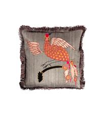 Day Bird of Paradise Cushion Cover Tumberic