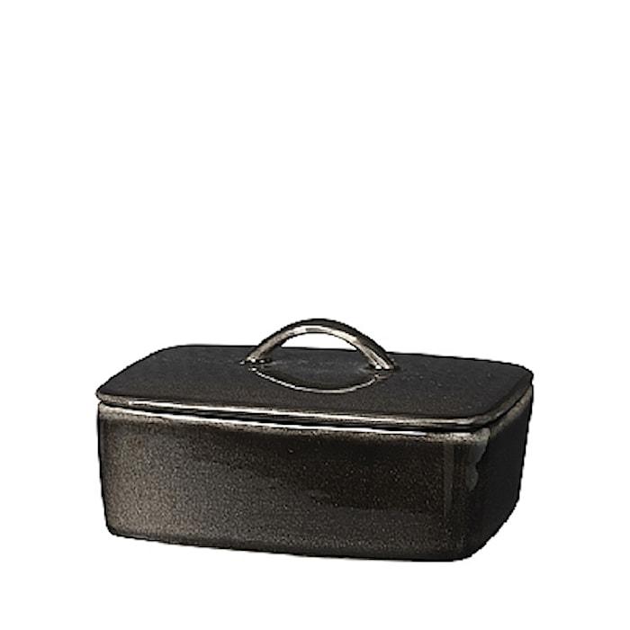 Smørskål Nordic Coal 15x12 cm