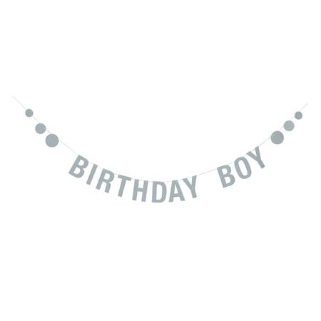 Girlang Birthday - Blå