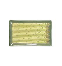 Tallrik Asparagus Grön