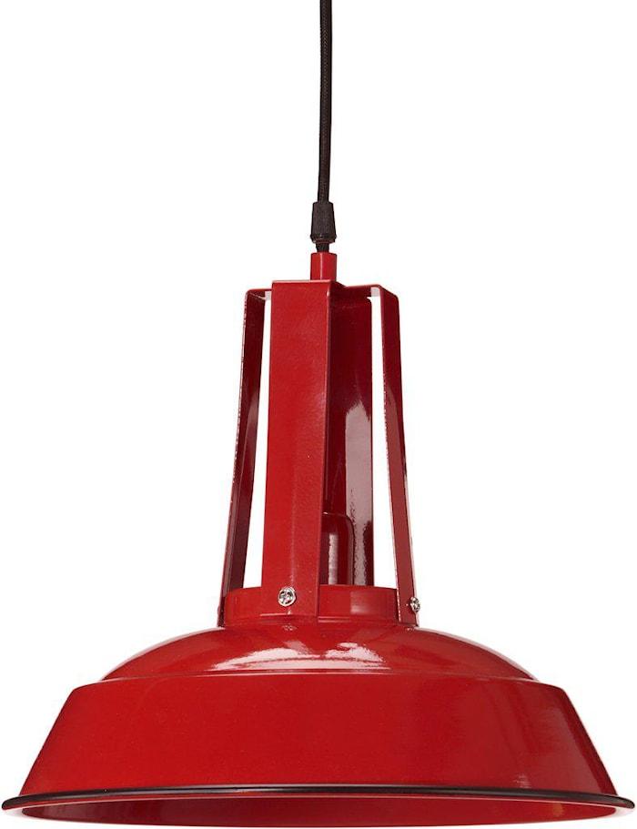 Copenhagen Loftslampe Rød 34 cm