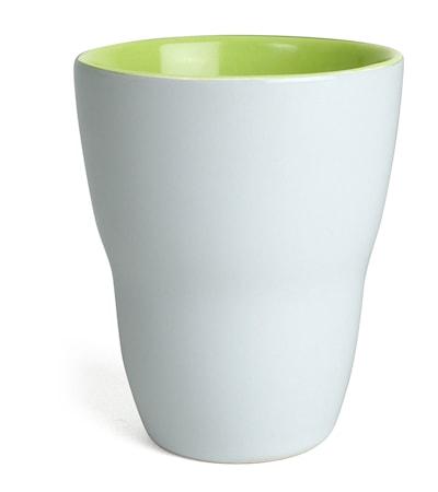 Kopp Venus, hvit/lime