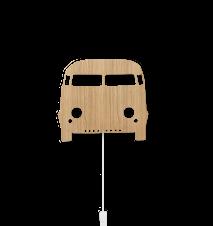 Car Lamp - Oiled Oak