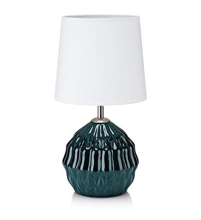 Lora Bordslampa Grön/Vit