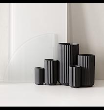 Vase Porcelæn Sort 15 cm