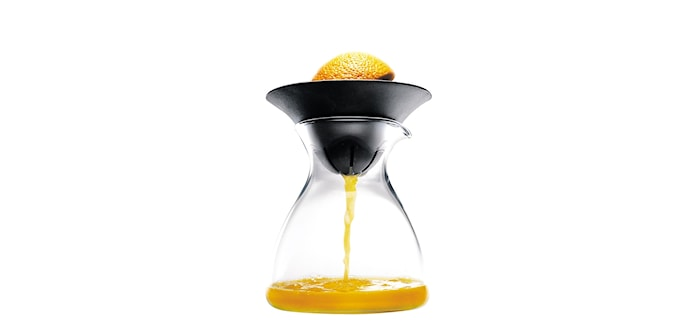 Citruspress med glaskanna
