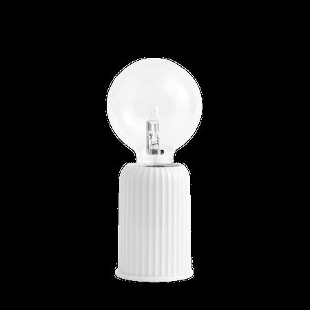 Fatning #03 Porcelæn Hvid 10,7 cm
