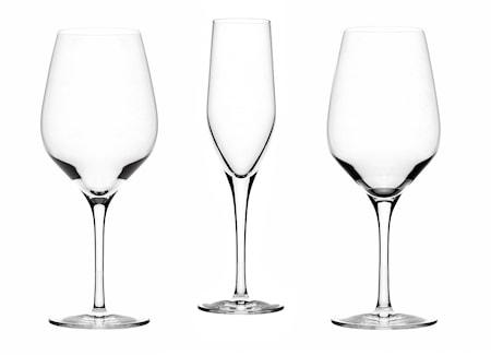 Glasservis 4x3 delar